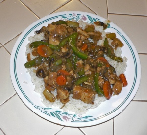 Chicken Stir Fry (not my image)